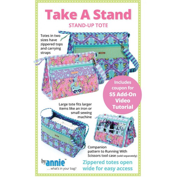 Take a Stand, Stand-up-Tote Pattern