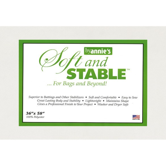 """Annie's Soft and Stable Polyester Stabilizer - 36"""" x 58"""""""