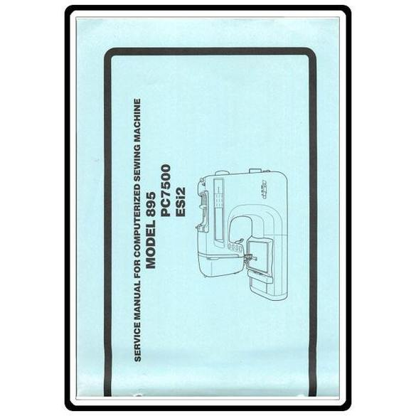Service Manual, Brother PC-7500