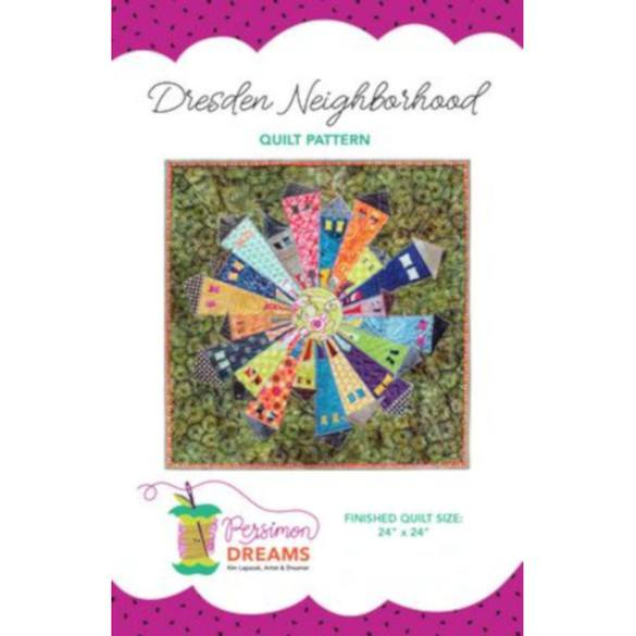 Dresden Neighborhood Mini Quilt Pattern