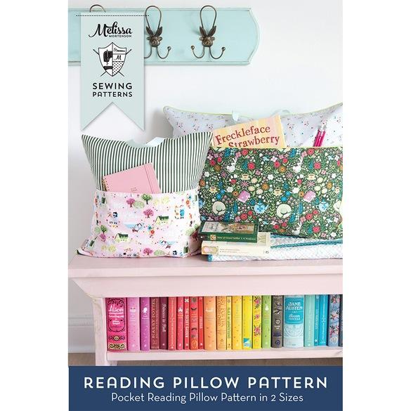 Melissa Mortenson, Reading Pillow Pattern