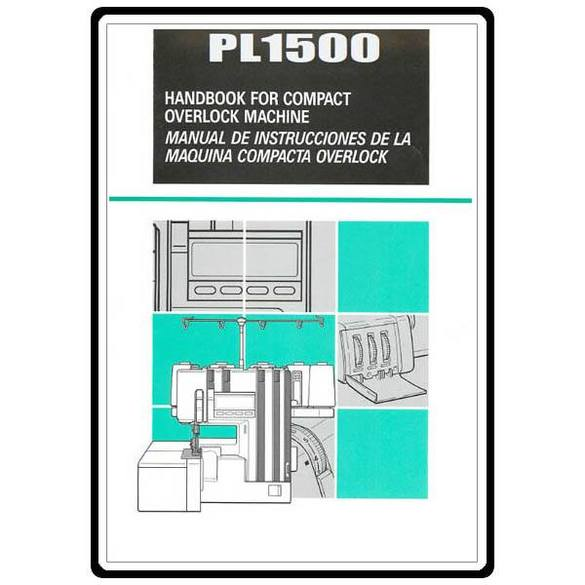 Instruction Manual, Brother Compact Overlock PL-2000