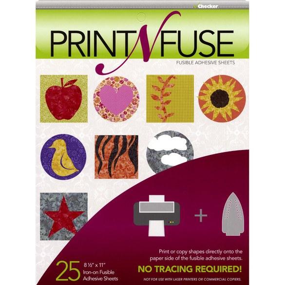Print n' Fuse Inkjet Fusible Sheets 25pk