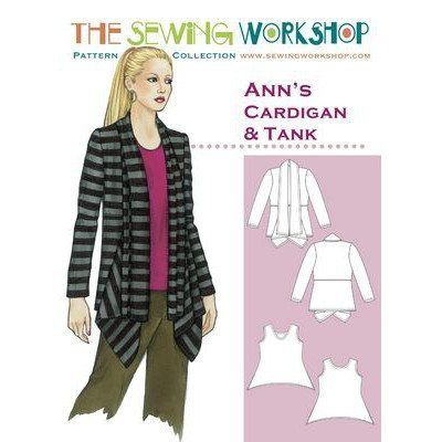 Ann's Cardigan Pattern, The Sewing Workshop
