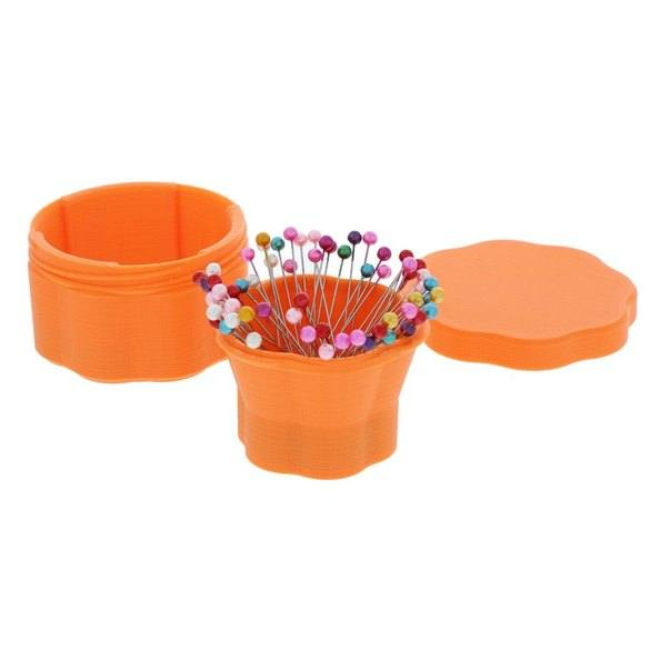 Large Magnetic Flower Pin Cups