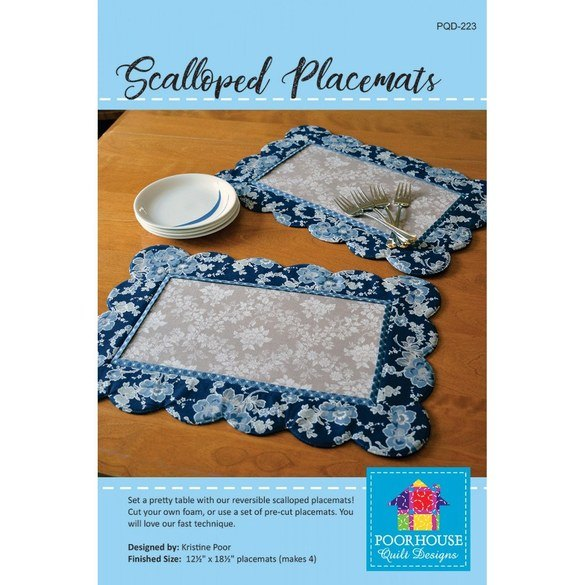 Scalloped Placemat Pattern