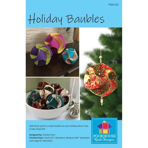 Holiday Baubles Pattern