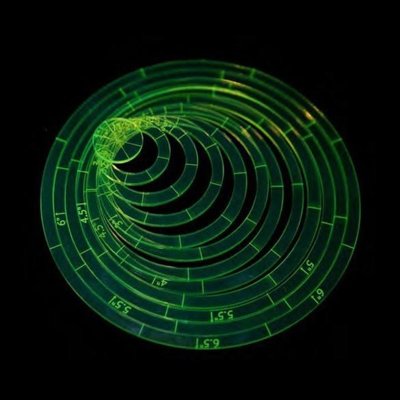 12pc Circle Ruler Set
