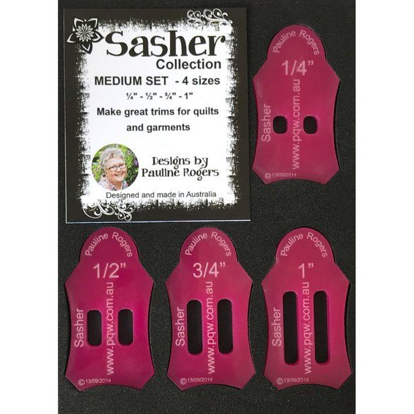 Sasher Collection, 4pc Medium Set
