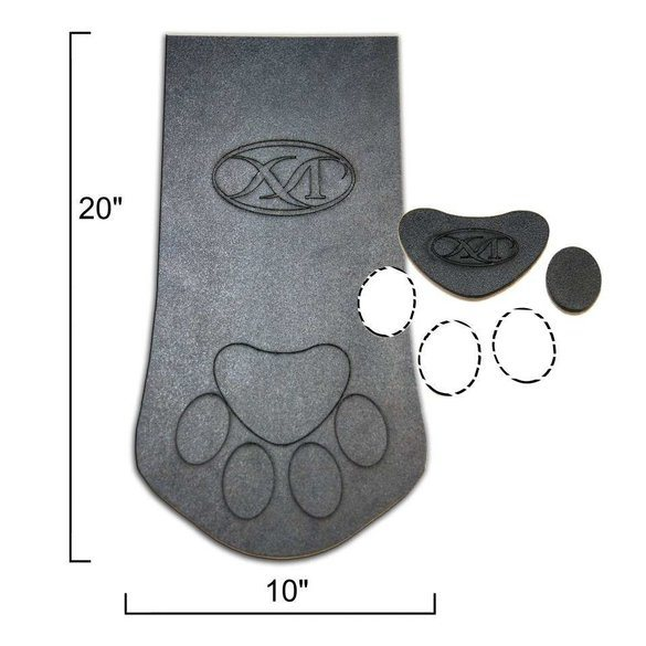 Paw Stocking and Template Set (3pc), Martelli