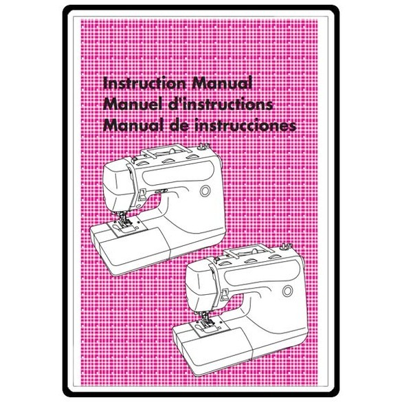Instruction Manual, Brother PS-3100
