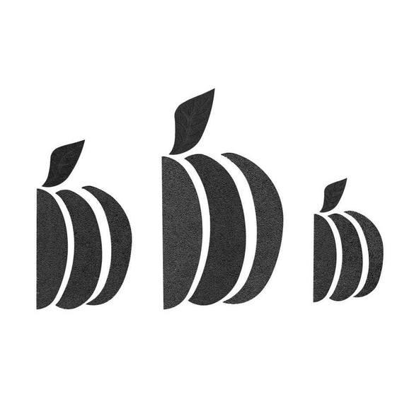 Pumpkin Template Set (12pc), Martelli