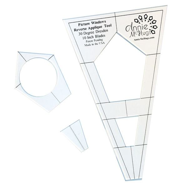 Picture Window Reverse Applique Tool Set