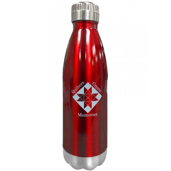 Quilters Create Memories Stainless Steel Bottle (16oz)