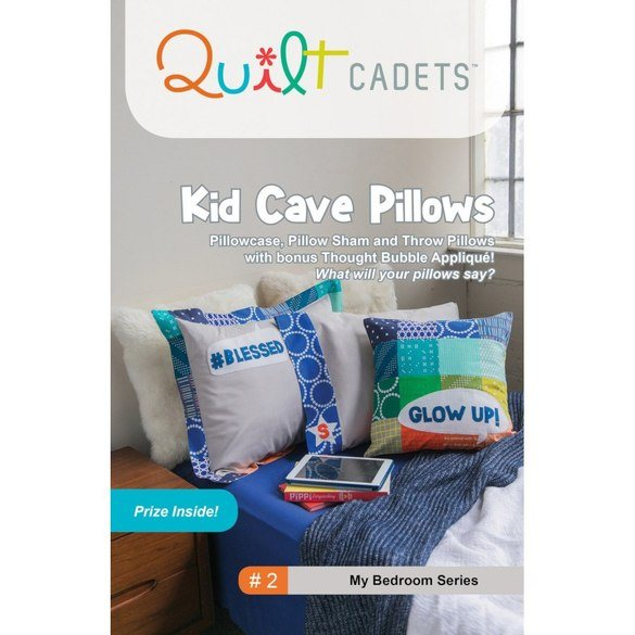 Kid Cave Pillow Pattern - Quilt Cadets