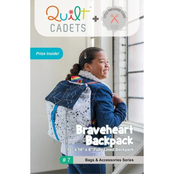 Braveheart Backpack Pattern - Quilt Cadets