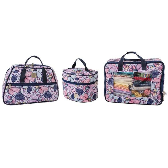 Quilter's Caboodle 3pc, BlueFig - Maisy