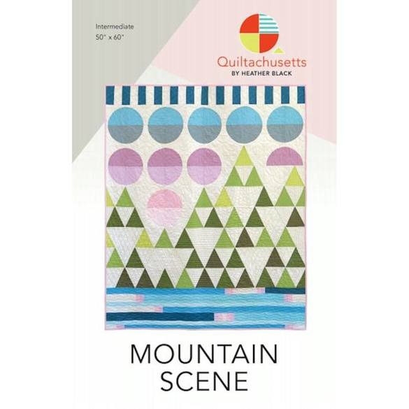 Mountain Scene Quilt Pattern