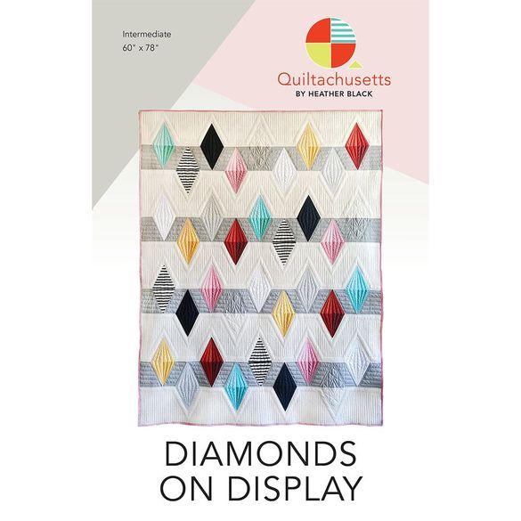 Diamonds On Display Quilt Pattern
