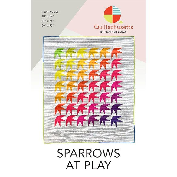 Sparrows At Play Quilt Pattern