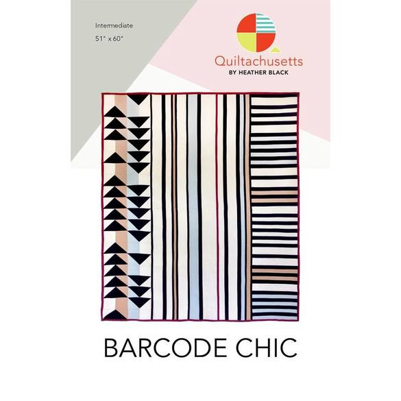 Barcode Chic Quilt Pattern