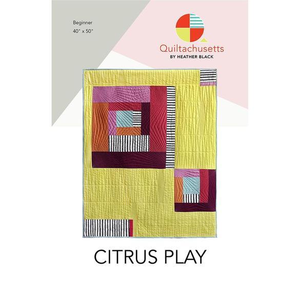 Citrus Play Quilt Pattern