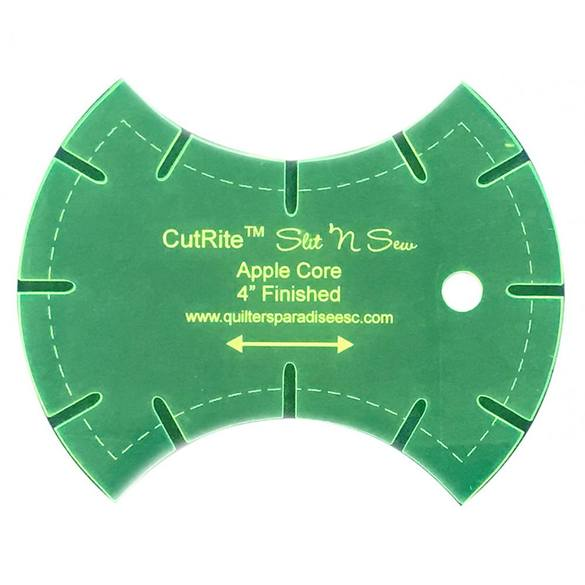 CutRite, Slit 'N Sew Apple Core Template