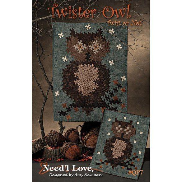 Twister Owl Pattern, Need'L Love
