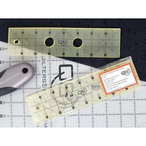Quilters Select Precision Machine Quilting Ruler - 2in x 8in
