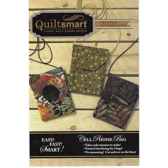 Quiltsmart Cell Phone Bag Pattern Kit