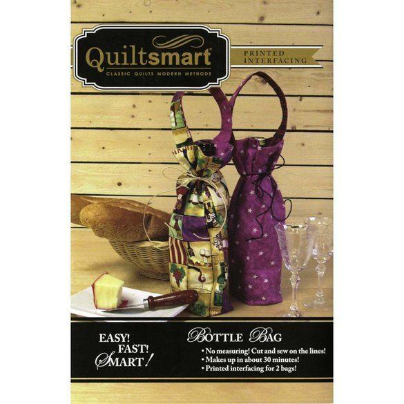 Quiltsmart Bottle Bag Pattern Kit