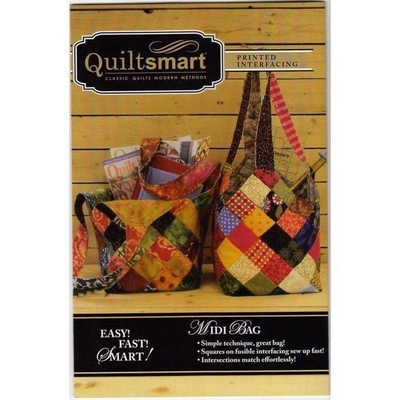 Quiltsmart Midi Bag Pattern Kit