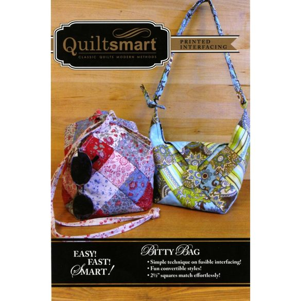 Quiltsmart Bitty Bag Pattern Kit