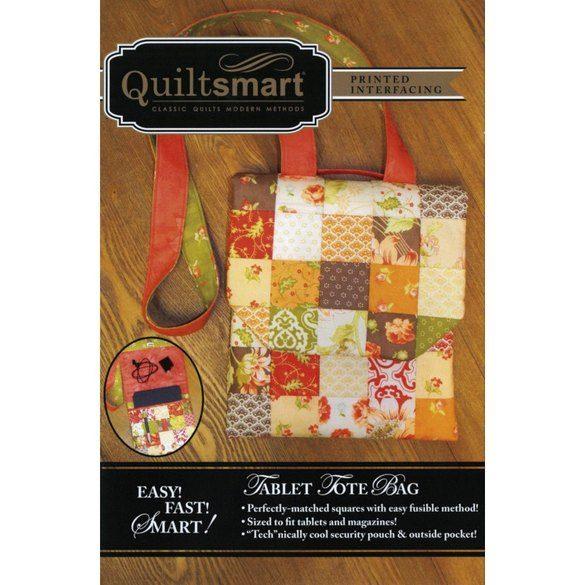 Quiltsmart Tablet Tote Bag Pattern Kit