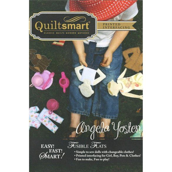 Quiltsmart Fusible Flats Doll Pattern Kit