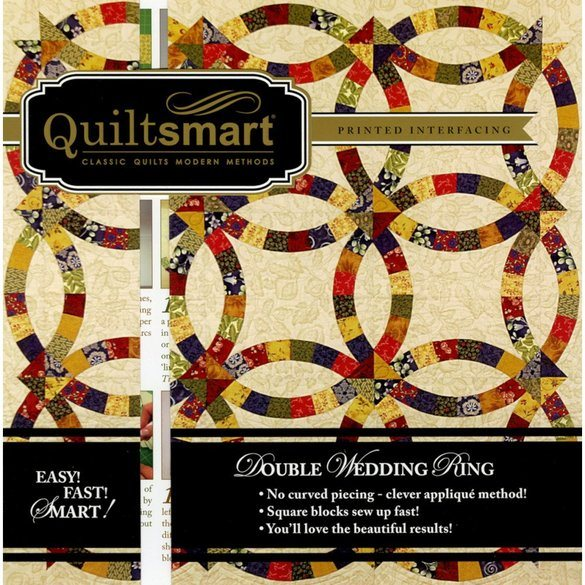 Quiltsmart Double Wedding Ring Snuggler Pattern