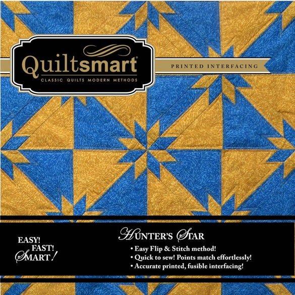 Quiltsmart Hunter's Star Snuggler Pattern