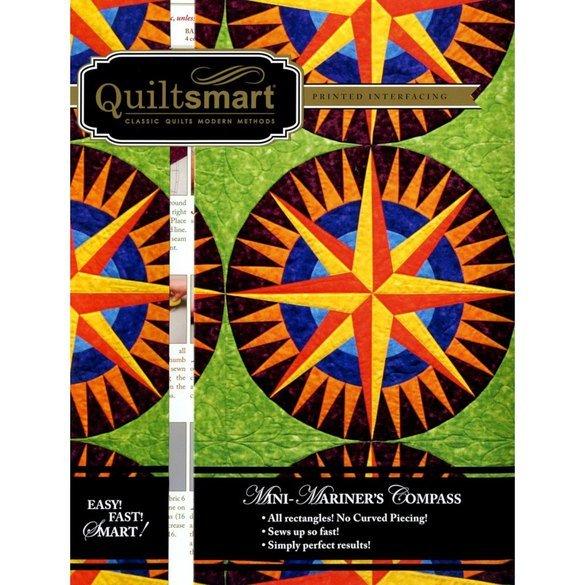 Quiltsmart Mini Mariner's Compass Pattern Kit