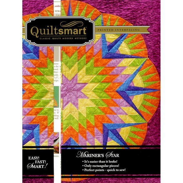 Quiltsmart Mariner's Star Pattern Kit