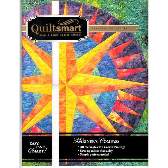 Quiltsmart Mariner's Compass Pattern Kit