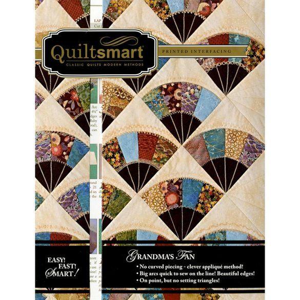 Quiltsmart Grandma's Fan Pattern Kit
