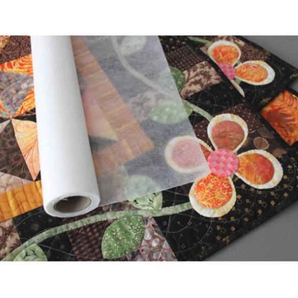 Quilters Select Cut Away Fusible Stabilizer - 15inx10yds