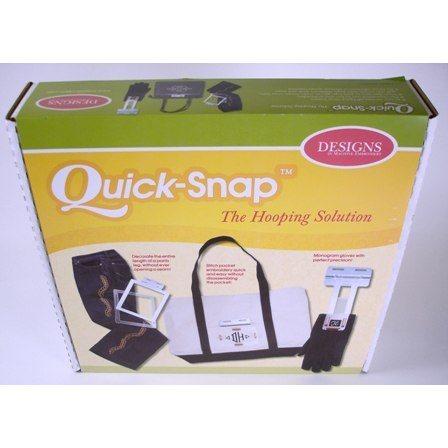 Quick-Snap Hoop Set, Janome