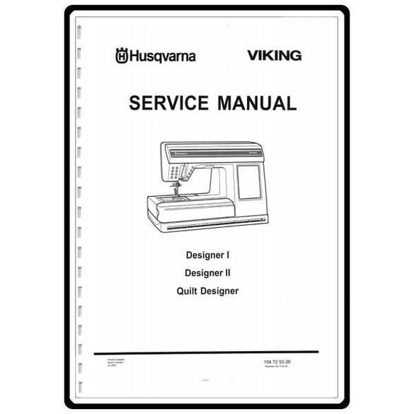 Service Manual, Viking Quilt Designer