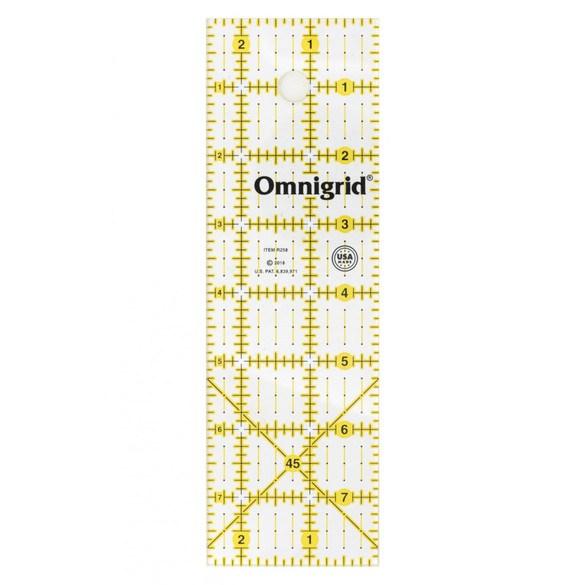 """Omnigrid, 2-1/2"""" x 8"""" Ruler"""