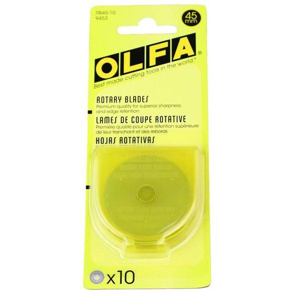 45mm Rotary Blades (10pk), Olfa