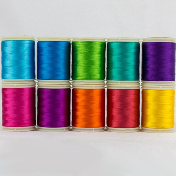 Wonderfil, Splendor 40wt Rayon Thread Sets