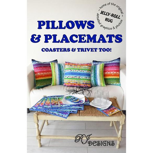 R.J. Designs, Pillows & Placemats Pattern