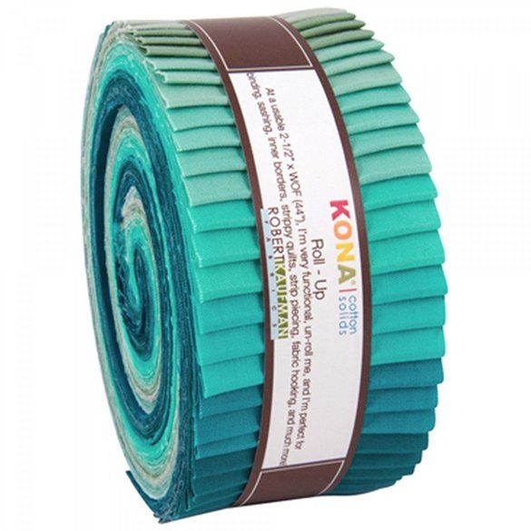Robert Kaufman, Kona Solids Fabric Roll (40pcs)