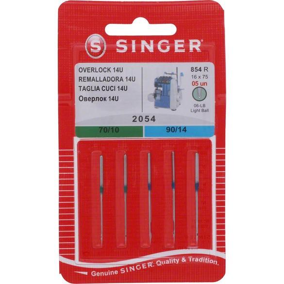 Serger Needles, Singer (5pk) - Assorted